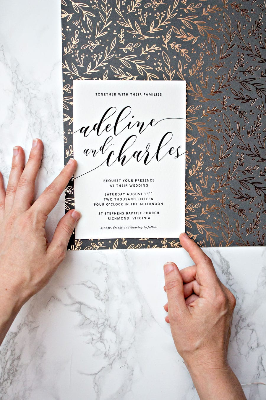 EASY WEDDING INVITATION BORDERS | Pipkin Paper Company
