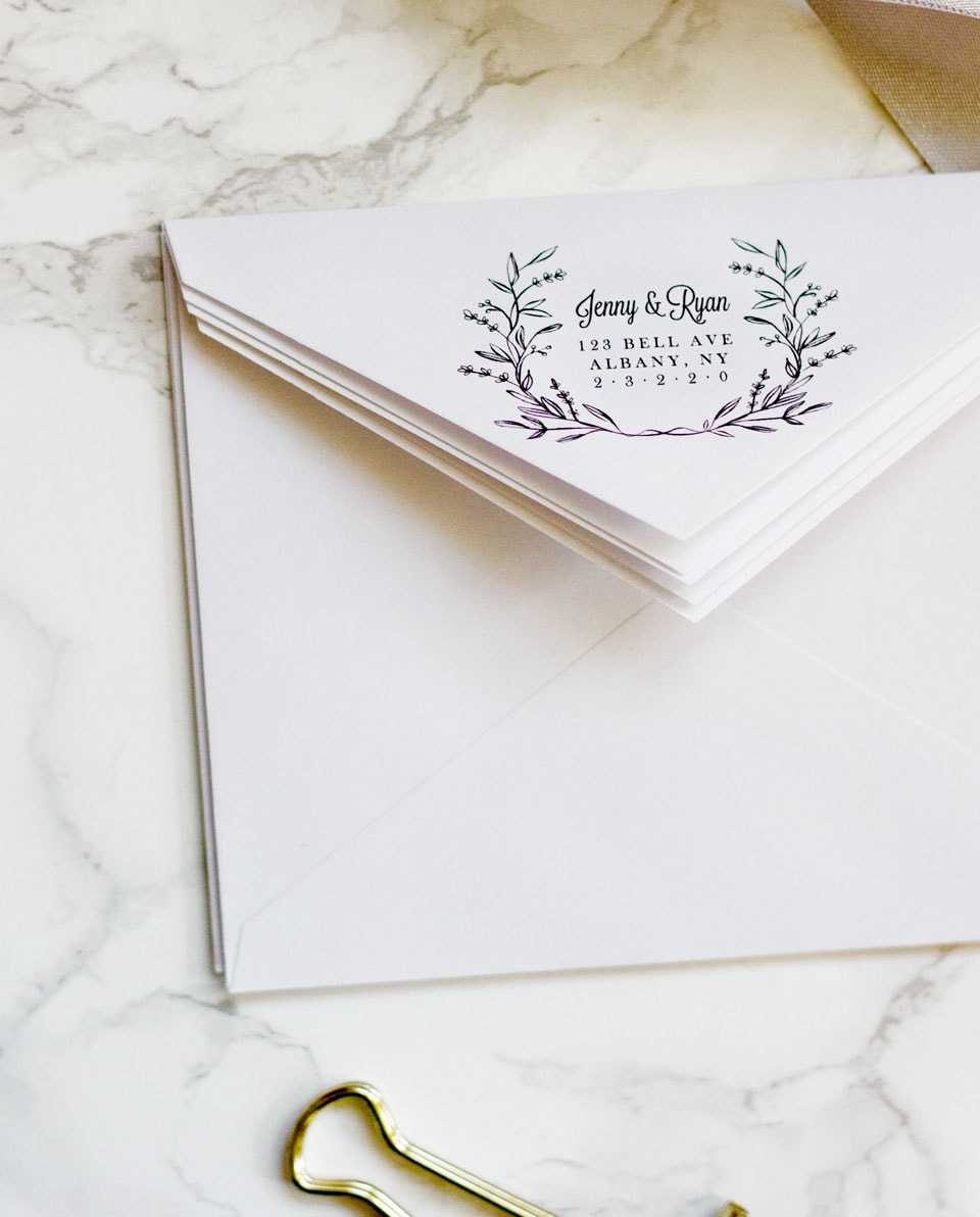 EASY PRINTABLE ENVELOPE TEMPLATE Pipkin Paper Company - Wedding invitation envelope address template