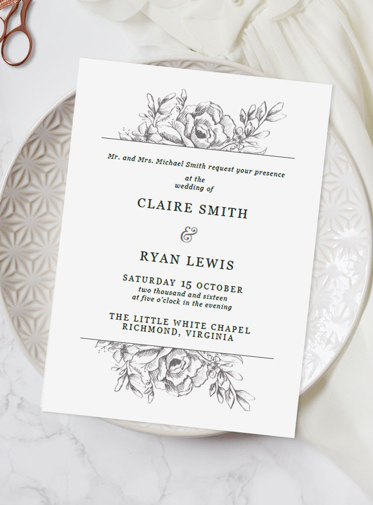 how to write your wedding invitation message