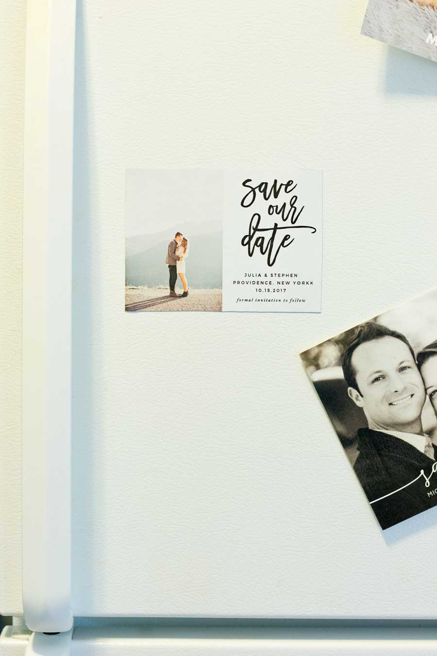 HOW TO MAKE YOUR OWN SAVE THE DATE MAGNETS (PLUS A FREEBIE ...