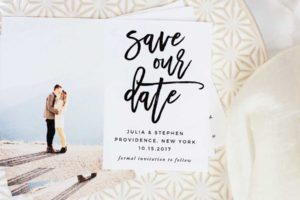HOW TO MAKE YOUR OWN SAVE THE DATE MAGNETS (PLUS A FREEBIE!)