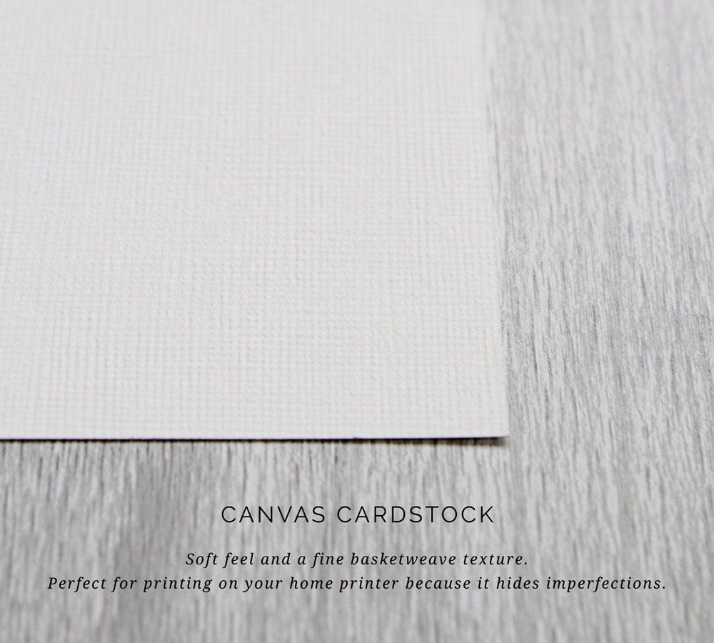 The ultimate guide to cardstock. We help take the guess work out of selecting, buying and printing the perfect cardstock for your wedding invitations.
