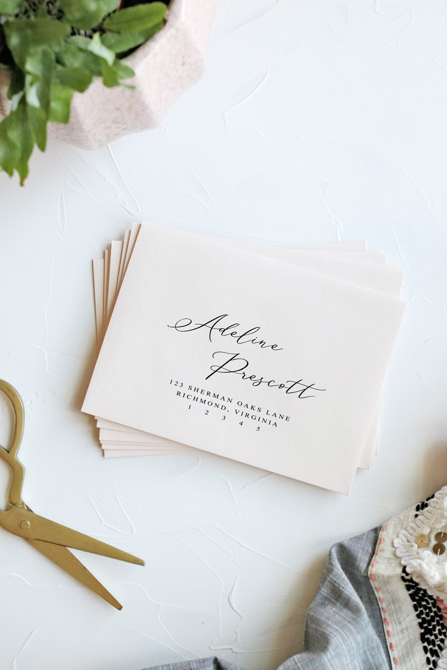 HOW TO PRINT ENVELOPES THE EASY WAY | Pipkin Paper Company