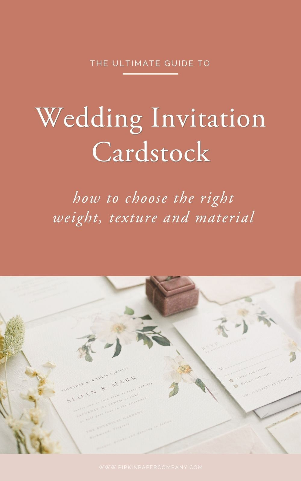 Cardstock 5: How to Choose Paper for Wedding Invitations